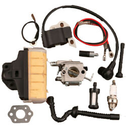Carburetor Ignition Coil Air Filter For Stihl Ms250c 021 023 025 Chainsaw Parts