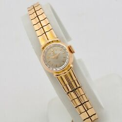 Omega Lady 60s 18 Kt Rose Gold Manual Winding Cal 481 Serviced