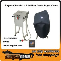 Bayou Classic 700-725 2.5 Gallon Full Length Deep Fryer Cover Made In The Usa