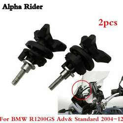 Adjustable Windshield Windscreen Mounting Bolts Screws For Bmw R1200gs 2004-2012