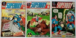 Superboy 181 183 184 1972 Adventures Of Superman Lord Of The Jungle Vf+ @