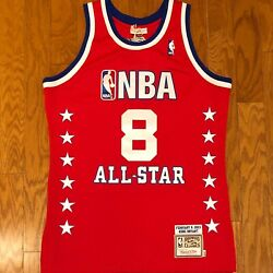 Bnwt Authentic Mitchell And Ness All Star Game Lakers Kobe Bryant Andlsquo03 Jersey Sz M