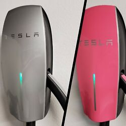 Vinyl Wrap For Tesla 2nd Gen Wall Charger Hpwc Face Plate And Wand Evskins.com