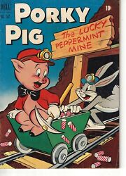 Porky Pig The Lucky Peppermint Mine- Dell Comic 342 1951