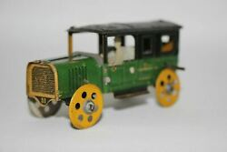 Antique Charles Rossignol Penny Toy Limousine Tin Litho Toy No Fischer Distler