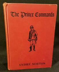 Andre Norton The Commands 1st Ed Signed 1st Book Very Rare