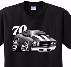 70 Chevy Chevelle Tee Shirt adult 5x sizes $9.95