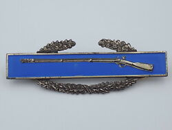 Wwii Us Army Cib Combat Infantry Badge Sterling Silver
