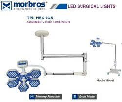 New Dual Colo Operating Light Exam Ot Led Lamp Light Surgical Operation
