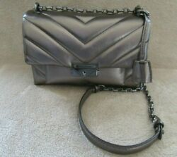 30h9uoel6k Cece Quilted Metallic Leather Crossbody Bag Purse Nwt
