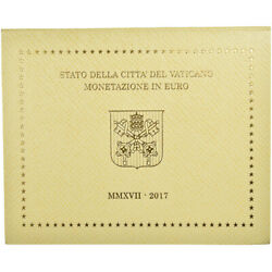 [781225] Vatican 1 Cent To 2 Euro Le Pape Franandccedilois 2017 Ms65-70