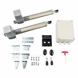 Automatic Dual Arm Swing Gate Opener Gates Up To 662 Lb. Dc Motor Low Noise