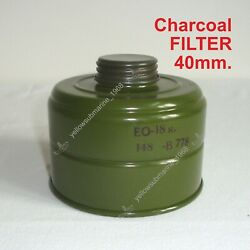 Nbc/cbrn New Charcoal Filter 40mm For Soviet Russian Military Ussr Gas Mask Pmg