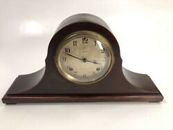 Antique Ansonia 8 Day Mantle Clock W/ Chimes Non Working For Parts Or Repair