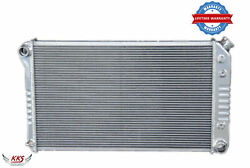 Kks Stamped Tank 3 Row Aluminum Radiator For 1968-1972 Chevy Chevelle 28w Core