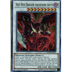 *** HOT RED DRAGON ARCHFIEND ABYSS *** ULTRA RARE MINT NM DUPO EN057 YUGIOH