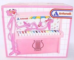 Antonelli The Pink Panther Piano Off United Artists Corp. Toy Instrument Mib`84