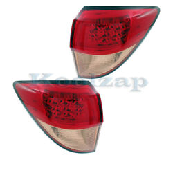 For 16 17 18 Hr-v Outer Taillight Taillamp Rear Brake Light Tail Lamp Set Pair