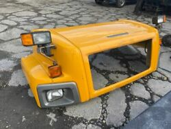 2007 Chevrolet C8500 Hood - Yellow - Headlamps Aux Headlamps Turn Sigals