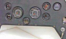 Boat Instrument Cluster Gauges Control Quicksilverdatcon Gauge And Key Switchkey