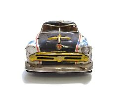 1950and039s Marusan Kosuge Ford Police Car Tin Toy Japan For Restoration Project A2