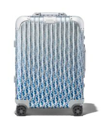 DIOR RIMOWA CABIN SUITCASE BLUE GRADIENT BRAND NEW LIMITED EDITION BAG CARRY ON