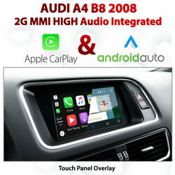 Audi A4 2g Mmi High - Touch Overlay Apple Carplay And Android Auto Integration