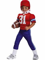 Power Suits Toddler Boys Football Player Muscle Halloween Costume 3t- 4t