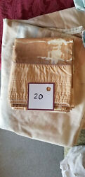 20 Bed Sheet Set 1 fitted 2 pillow cases King Size 78x80 6quot; high