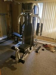 Multi Station Gym Equip - Chest Press, Lat Pull Down, Triceps, Lower Lat Pulley,
