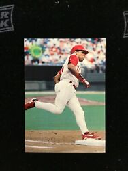 1995 Topps Stadium Club Blank Back Test Issue 211 Barry Larkin Bes Reds Mt