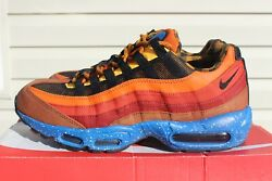 Brand New Air Max 95 Campfire 538416-600andnbspmenand039s Size 9.5