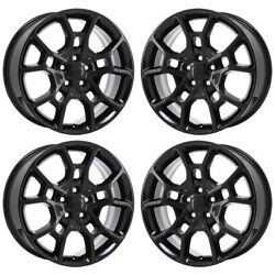 19 Dodge Charger Awd Gloss Black Exchange Wheels Rims Factory Oem 2544 2015-...