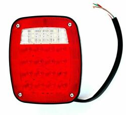 Gg Led Tail Stop Turn Back-up Light Combination Without License Lite 80796 Each