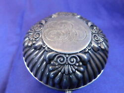 Gorham Early Footed Sterling Silver Box 120 - Good Condition Mono M1