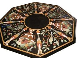 48 Marble Dining / Center Table Top Floral Work Inlay Art Home Decor And Gifts