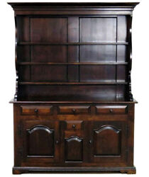 Gorgeous Solid Pine Wallace Nutting Welsh Jelly Cupboard Cabinet C1960s