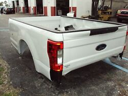 Ford Super Duty F250 F350 Andnbsp8and039 Truck Bed Box Fits 2017-2020 Onlyandnbsp
