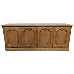 Lots Of Storage Walnut Baker Furniture Country French Style Sideboard Buffet