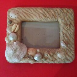 Nautical Seashore Themed Free Standing Picture Frame $2.75