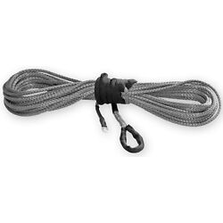 Kfi Syn25-s50 Synthetic Winch Cable Rope Smoke 1/4in X 50ft 4000-5000lbs Winches