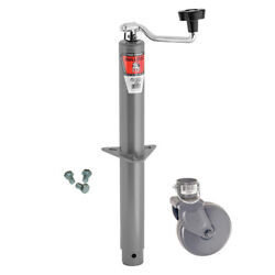 Bulldog A-frame Trailer Jack With Wheel And Mounting Hardware Jb-155032-25