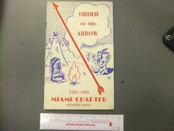 Boy Scout Oa 7 Owasippe Lodge Miami Chapter Booklet 0255hh