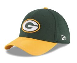 Green Bay Packers New Era Nfl Sideline Hat 39thirty Flex Fit Cap Size M/l New