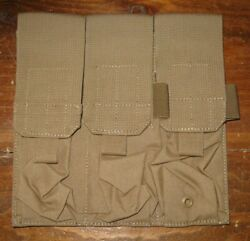 Firstspear Surefire 60 Triple Magazine Pouch 6/9 Coyote Brown Mag Pocket Molle