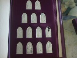 Books Of The Jewish Bible By Franklin Mint Sterling Silver