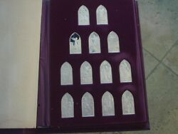 Books Of The Protestant Bible By Franklin Mint Sterling Silver