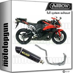 Hom Nocat Slip-on Complete Arrow Indy-race Carbon C Honda Cbr 600 Rr 09/12