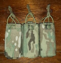 Firstspear Hk Mp7 Triple Speed Reload Mag Pouch 6/12 Multicam Magazine Pocket Fb