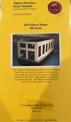 Alpine Division Ho Scale Mods 522 Diesel House Engine Facility Trackside Build